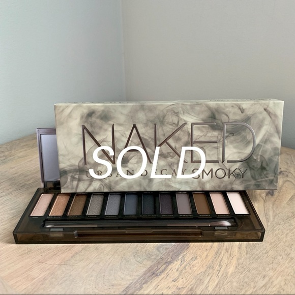 Urban Decay Other - Urban Decay Naked Smoky Eyeshadow Palette NIB